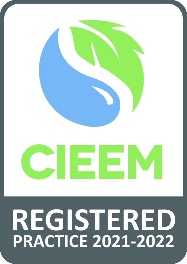 CIEEM Registered Practice logo 2021-2022